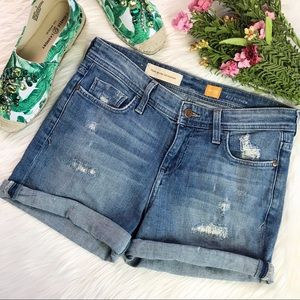 Anthropologie Pilcro Hyphen Fit Jean Shorts